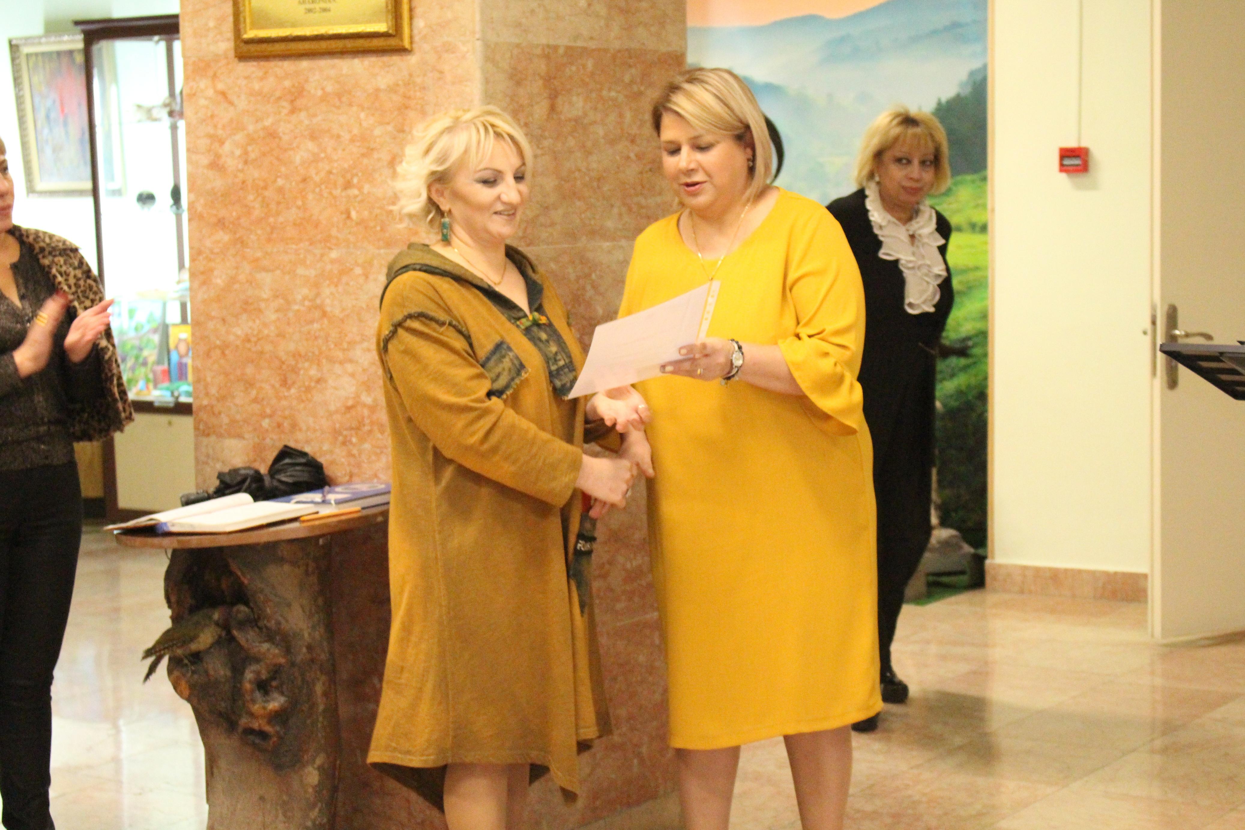 Հայաստանի բնության պետական թանգարանում տեղի ունեցավ «Բնության ձայնին ունկնդիր» խորագիրը կրող ցուցահանդեսի բացումը