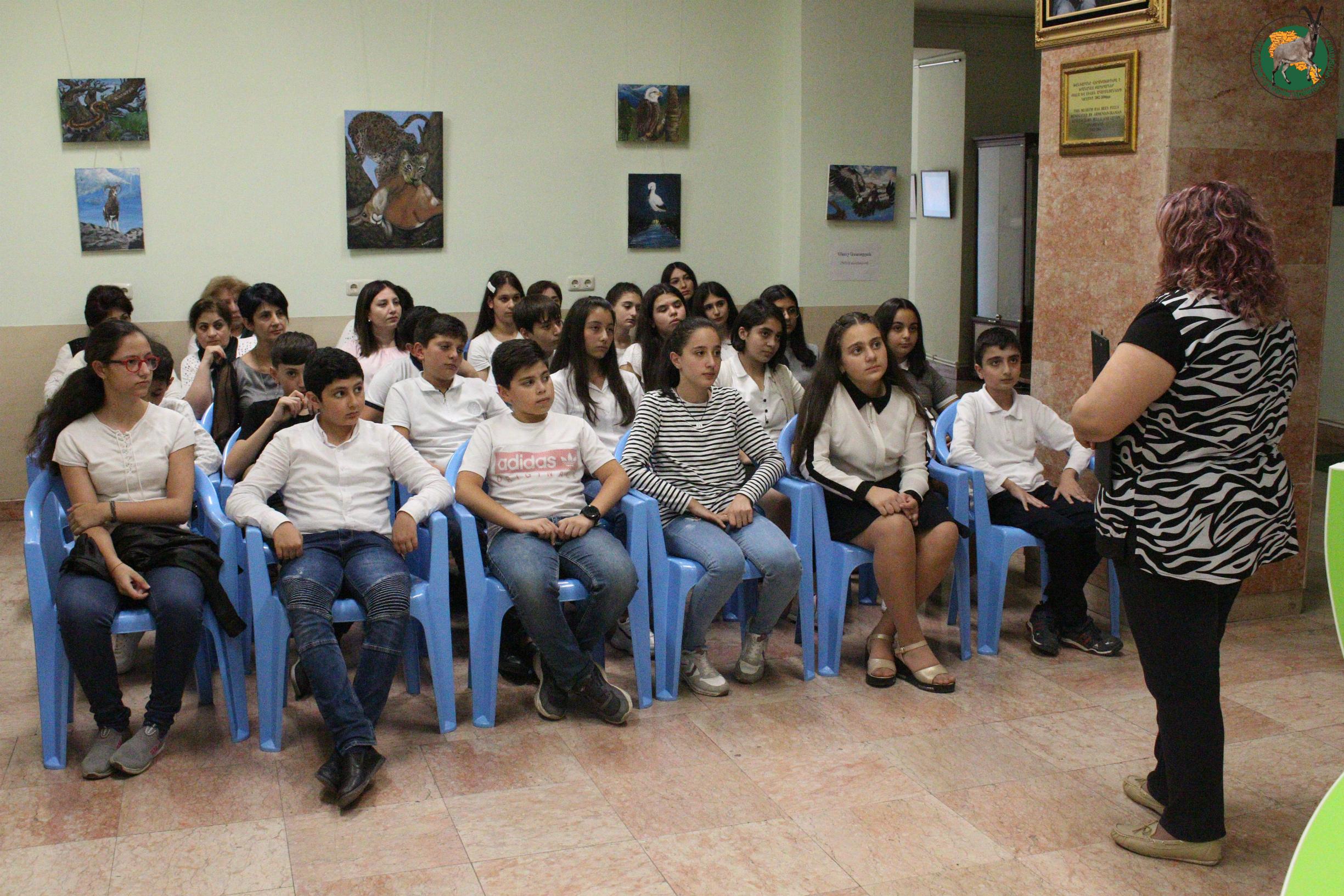 Հայաստանի բնության պետական թանգարանը կազմակերպեց կինոդիտում բնապահպանական թեմայով